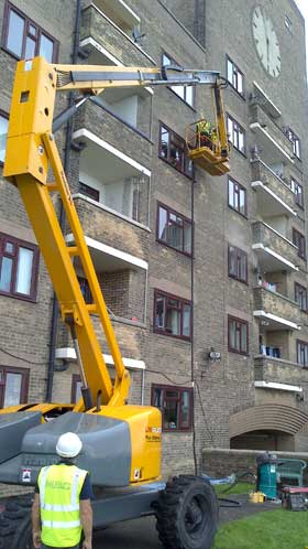 CHERRY PICKER MBC Pointing Services